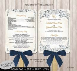 images  wedding program fans  pinterest
