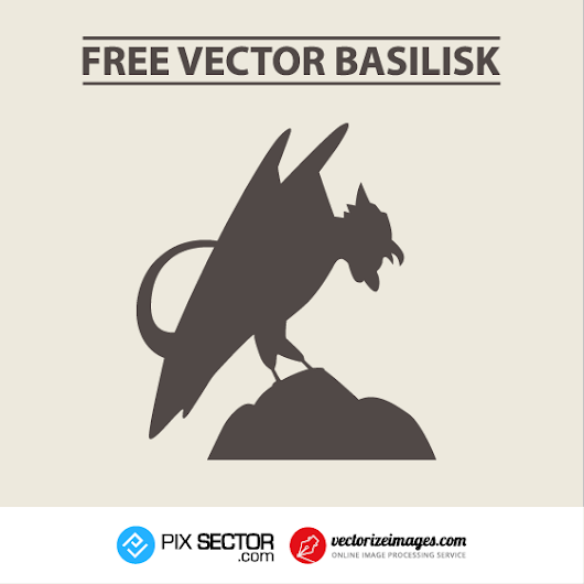 Basilisk free vector - Pixsector: Free vector images, mockups, PSDs and photos