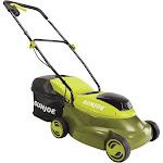 Sun Joe MJ24C-14-XR Cordless Lawn Mower with Brushless Motor | 24-Volt | 5-Amp | 14-Inch, Green