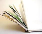 Leatherette Wrap Around Hand Bound Journal in Deep Brown - SproutsPressDesigns