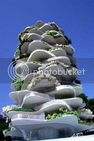 weird building design the urban cactus