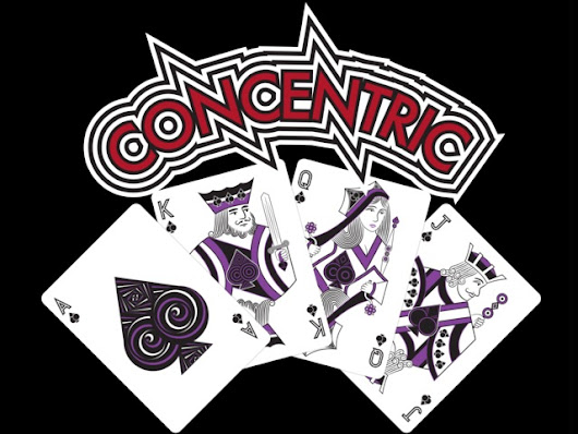 Concentric Deck - Printed by Legends Playing Card Co.