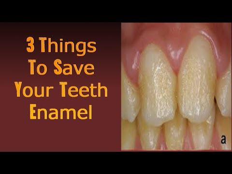 3 Critical Tips That Will Save Your Tooth Enamel Right Away!