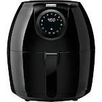 Bella - Pro Series 6qt Digital Air Fryer - Black