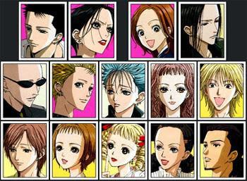 Resultado de imagen de nana anime personajes