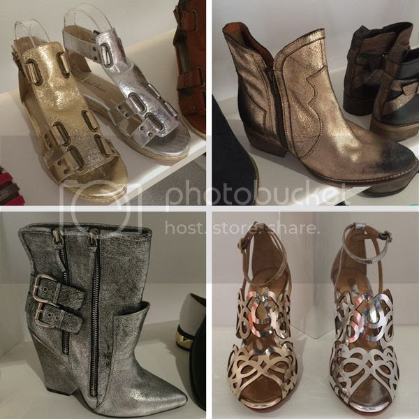 metallic shoe trend for 2015