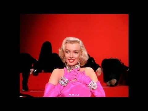 "Marilyn Monroe in ""Gentlemen Prefer Blondes"" - ""Diamonds Are A Girls Bes..."
