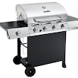 Giveaway: Char-Broil Classic 4-Burner Gas Grill (Ends 3/1/17)