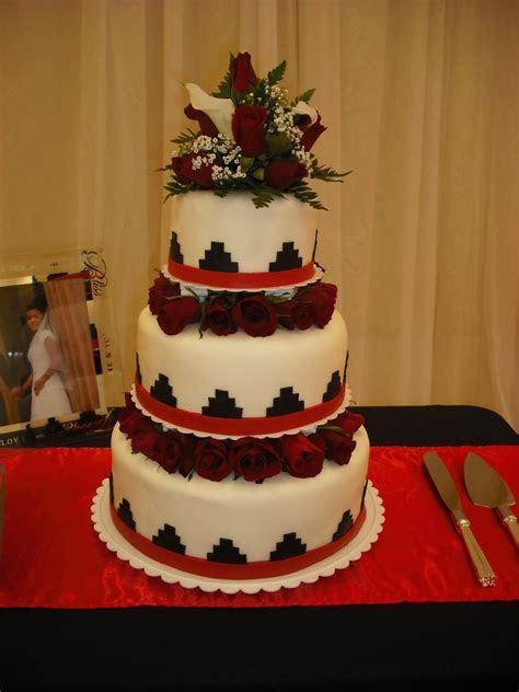 Sprinklebelle: Navajo Basket Weave Wedding Cake Very
