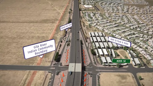 Take a virtual tour of the South Mountain Freeway