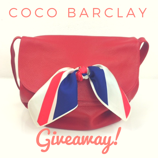 New Giveaway! Coco Barclay Bag and Package £225!