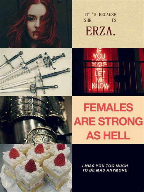anime aesthetic  erza scarlet ps  edit