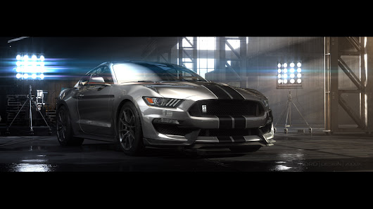 Ford unveils Shelby GT350 Mustang ahead of L.A. Auto Show