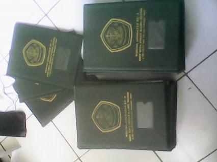 Produksi Sampul Raport Hot Print & Emboss Super Murah Surabaya