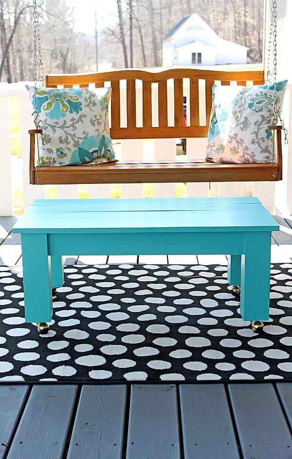 easy DIY coffee table plans