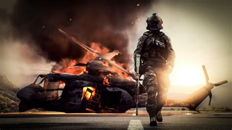 wallpaper battlefield  action weapon soldier