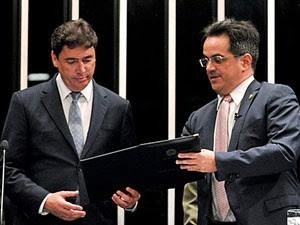 Wilder Pedro de Morais (DEM-GO) toma posse no Senado (Foto: Geraldo Magela/Agência Senado)