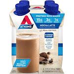 Atkins Protein Shake - Mocha Latte - 4ct
