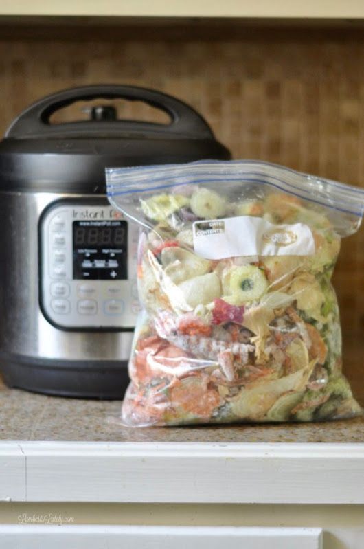Vegetable Broth in the Instant Pot (for under 10 cents!)