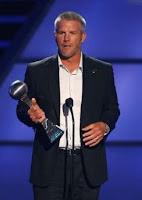 Brett Favre at his last ESPY's, maybe