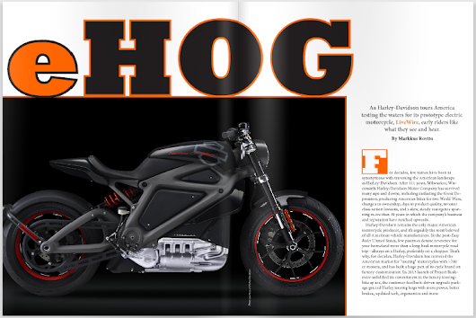 Charged EVs |   Harley-Davidson's Chief Engineer on the development of Project LiveWire