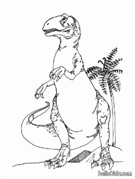 dangerous tyrannosaurus coloring pages hellokidscom