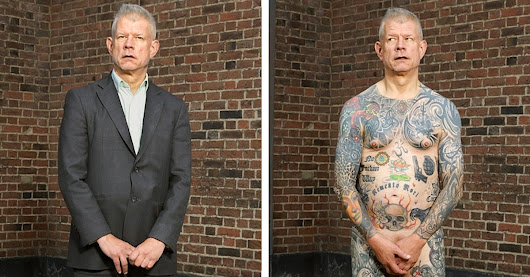 Interview: Portraits of Heavily Tattooed People With and Without Clothes On