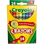 Crayola Classic Color Pack Crayons - 24 count
