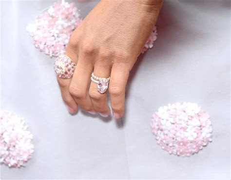 The Custom Rose Gold Ring Was Designed by Lorraine