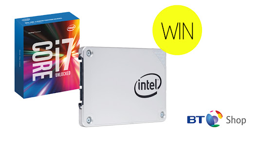 I've entered to win this Intel CPU/ SSD bundle!