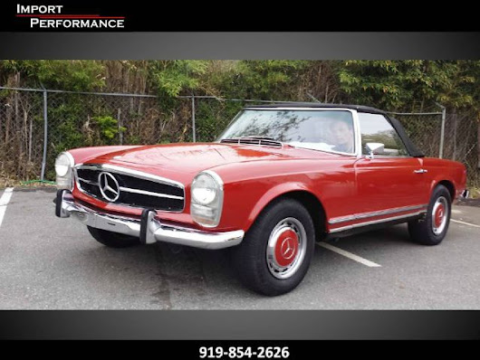 1964 Mercedes 230Sl Base For Sale In  Raleigh NC - Import Performance Sales