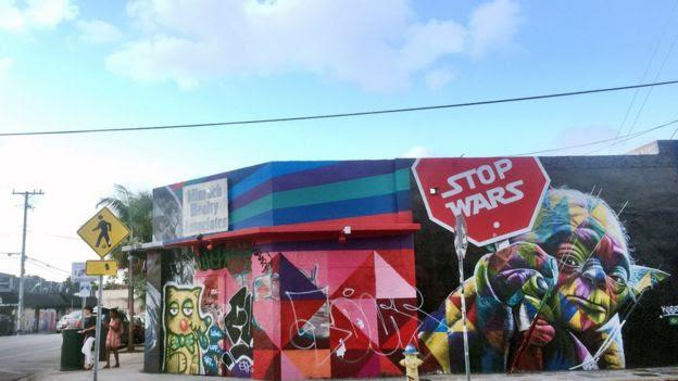 Calles de Wynwood en Miami-Dade.