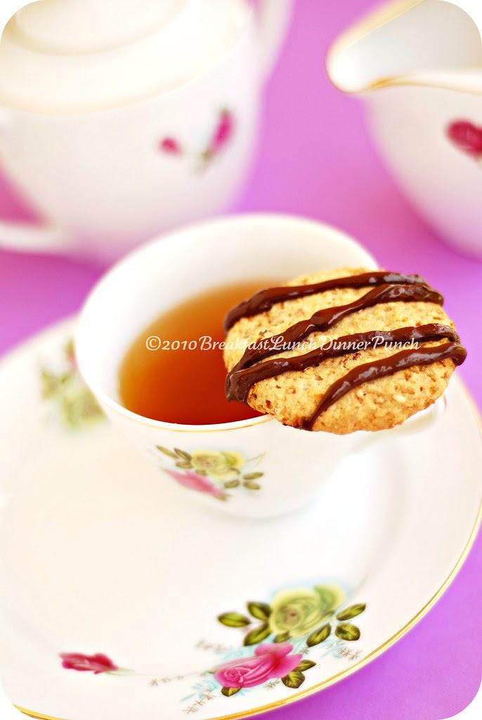 sesame seed sugar cookie