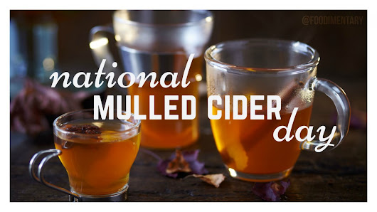 September 30th is National Mulled Cider Day!