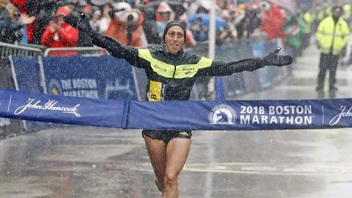 Congrats to #Desiree for winning the #BostonMarathon ! #USA !! ~
