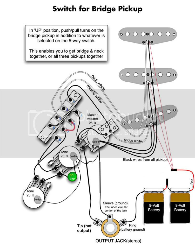 Emg Active Bas Pickup Wiring Diagram