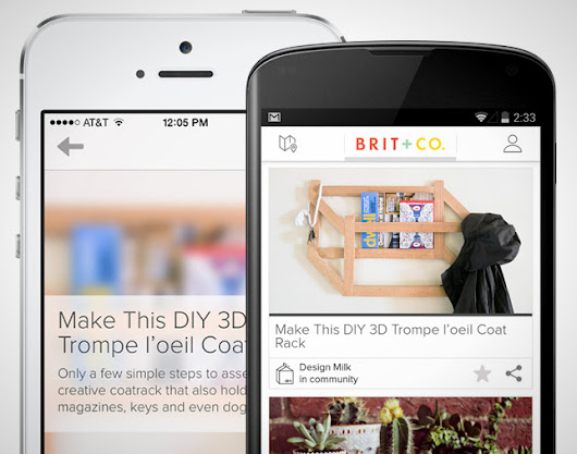 Big News: Now You Can Publish Your Own DIYs and Roundups to Brit + Co!