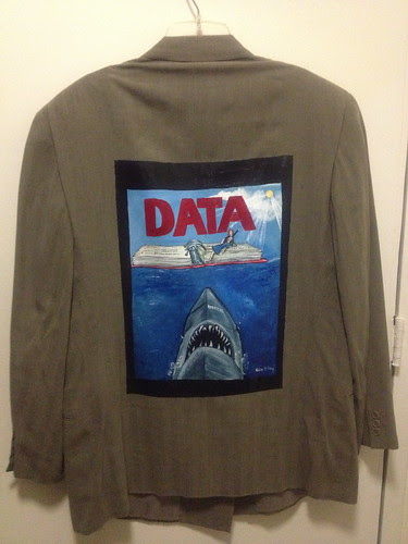 """You're going to need a bigger binder."" a jacket for Jon Francke"