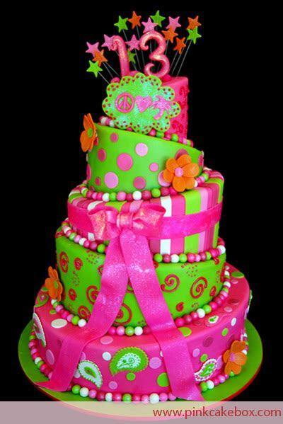 Girls Birthday Cake Ideas   Cake Pictures