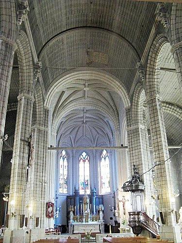 Eglise Ste Croix à Nantes