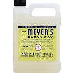 Mrs. Meyer's Clean Day Liquid Hand Soap Refill, Lemon - 33 fl oz jug