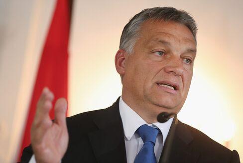 Viktor Orban, Prime Minister of Hungary.