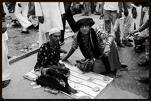 Two Beggars on the Crossroads of Life by firoze shakir photographerno1
