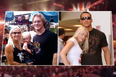 نجوم المصارعة مع زوجاتهم