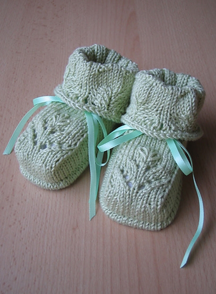 Top 10 Free Patterns for Knitting and Crocheting Baby Booties Top Inspired