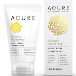 Acure Brilliantly Brightening Night Cream - 1.7 fl oz tube