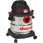 Shop-Vac 4.5 Peak HP Stainless Steel Wet Dry Vacuum, 5 Gallon