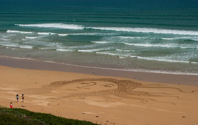 Sand Art - Venus Bay