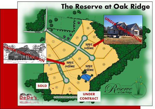 DeDe's Real Estate Group | The Reserve at Oak Ridge