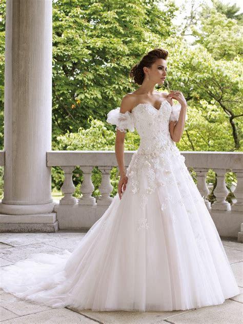 David Tutera for Mon Cheri   Princess Wedding Dresses